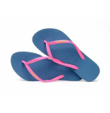Havaianas Slipper slim logo pop-up blue blauw