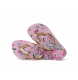 Havaianas Slipper kids flores rose quart lila paars