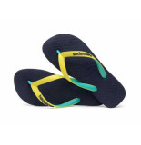 Havaianas Slipper top mix yellow navy blauw