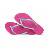 Havaianas Slipper slim logo pop-up holly fuchsia paars
