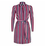 Jane Lushka Overhemd jurk usb919ss120 wit