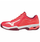 Mizuno Tennisschoen women wave exceed 2 cc fiery coral