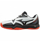 Mizuno Tennisschoen men wave intense tour 4 cc white
