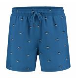 A-dam Swim short ron blauw