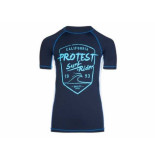 Protest Uv shirt geller jr donker blauw