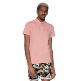 Scotch & Soda Polo met korte mouwen roze