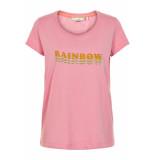 Numph Karistas t-shirt blush roze