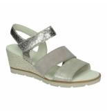 Gabor Slippers sandalen 041366 zilver