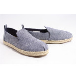 TOMS 10013365 navy suede instappers