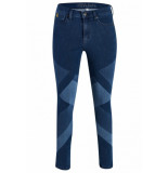 Yoga Jeans Rachel grafisch blauw