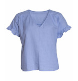 Sparkz Top rushes mouw sparkz blauw