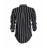Sparkz Zwart wit streep blouse sparkz