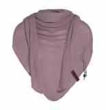 Knit Factory Lola omslagdoek oud roze