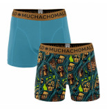 Muchachomalo Boys 2-pack shorts roots