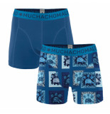 Muchachomalo Men 2-pack shorts turtle