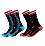 Muchachomalo Men 2-pack socks dna
