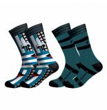Muchachomalo Men 2-pack socks prostethics