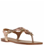 Tube Dames sandalen rose rood
