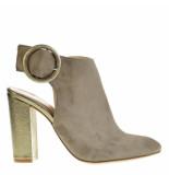 Evaluna Sandalen high heels grijs