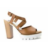 Taft Footwear Sandalen high heels bruin