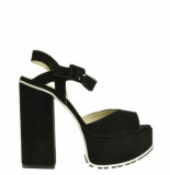 Taft Footwear Sandalen plateauzool zwart