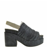 Taft Footwear Sandalen plato zwart