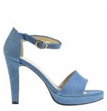 Fabienne Chapot Sandalen plateauzool blauw