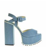 Taft Footwear Sandalen plateauzool blauw