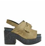 Taft Footwear Sandalen plato beige