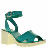 Fly London Sandalen plato groen