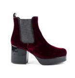 Taft Footwear Enkellaarzen rood