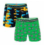 Muchachomalo Men 2-pack short sleep when im dead
