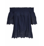 Only Shely top blauw