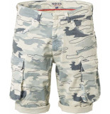 Noize Short, printed, camouflage stone beige