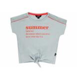 Little Miss Juliette Shirt korte mouw summer mint groen