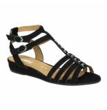 Gabor Slippers sandalen 041362 zwart