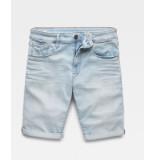 G-Star 3301 slim 1/2 length shorts licht d10481-8968-4974 blauw