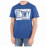 Tommy Hilfiger Tjm box tee blauw