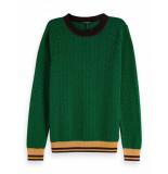 Maison Scotch Pullover knit groen