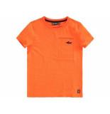 Tumble 'n Dry Shirt korte mouw dopi oranje