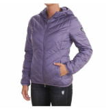 EA7 Down jacket paars