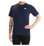Kappa T-shirt carl blauw