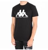 Kappa Kontroll kontroll reflective t-shirt zwart