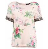Sisters Point Shirt velma leo flower roze