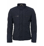 No Excess Jacket short fit night blauw
