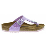 Birkenstock Gizeh magic snake lilac narrow roze