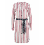 Studio Anneloes Shelby stripe tunic rood