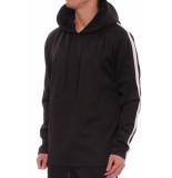 Just Junkies Max tux hoodie zwart/wit