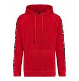 24UOMO 24 uomo my13 hoodie – rood