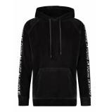 24UOMO 24 uomo my13 hoodie – zwart